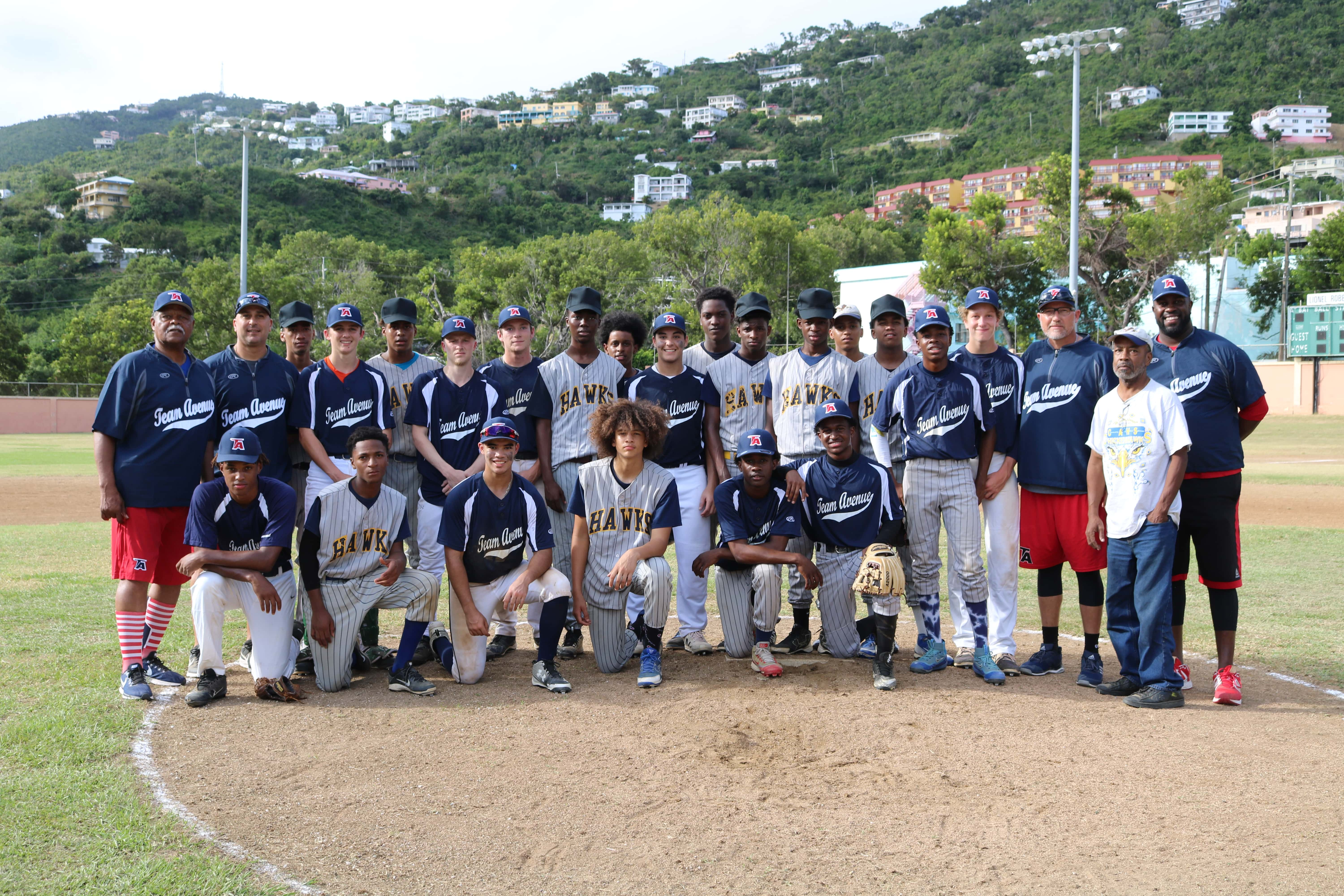 CAHS AND IEKHS HOST EXHIBITION GAMES WITH NATIONAL BASEBALL ORGANIZATION