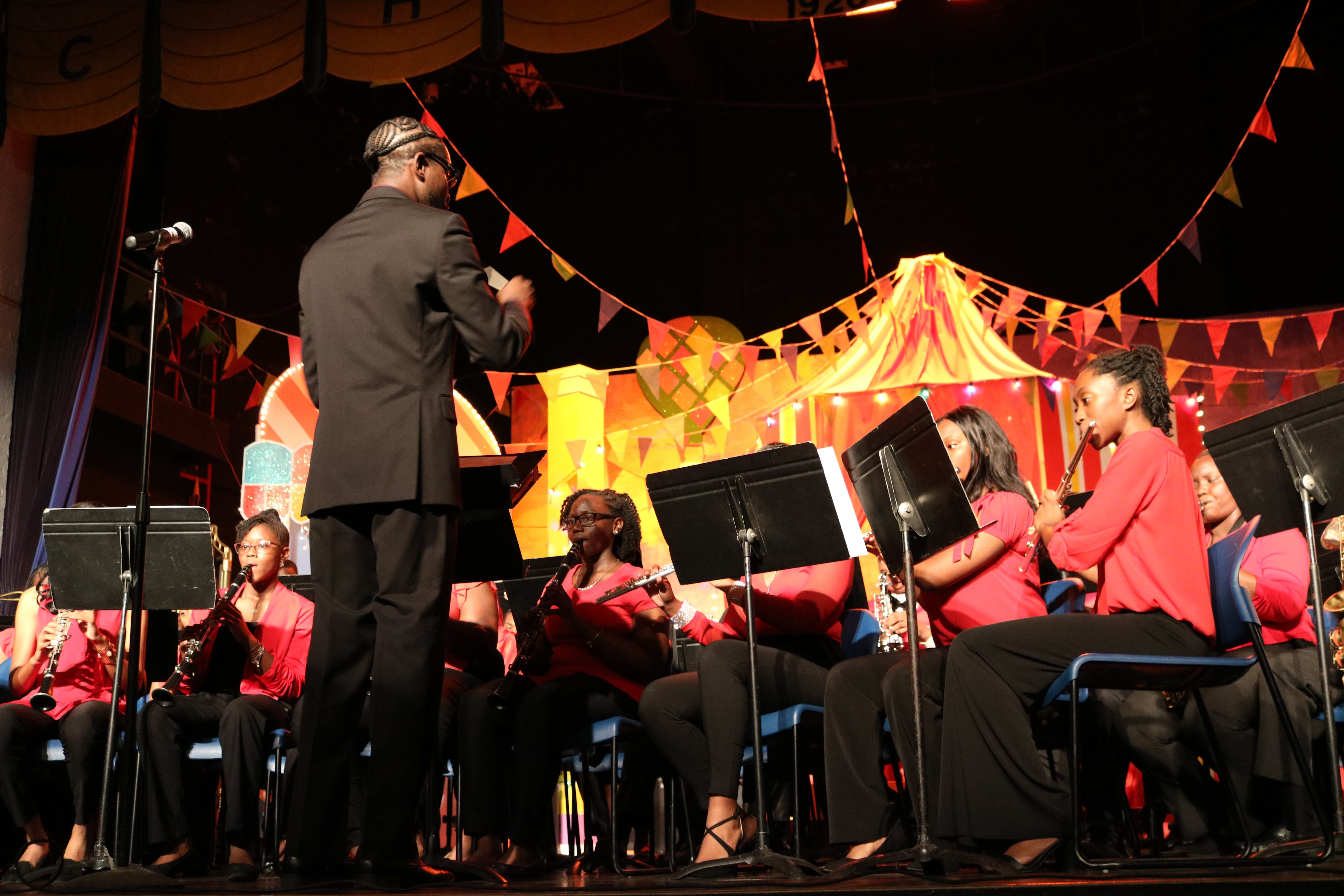 The joint Concert and Symphonic Band performing Christmas Bells are Ringing.jpg