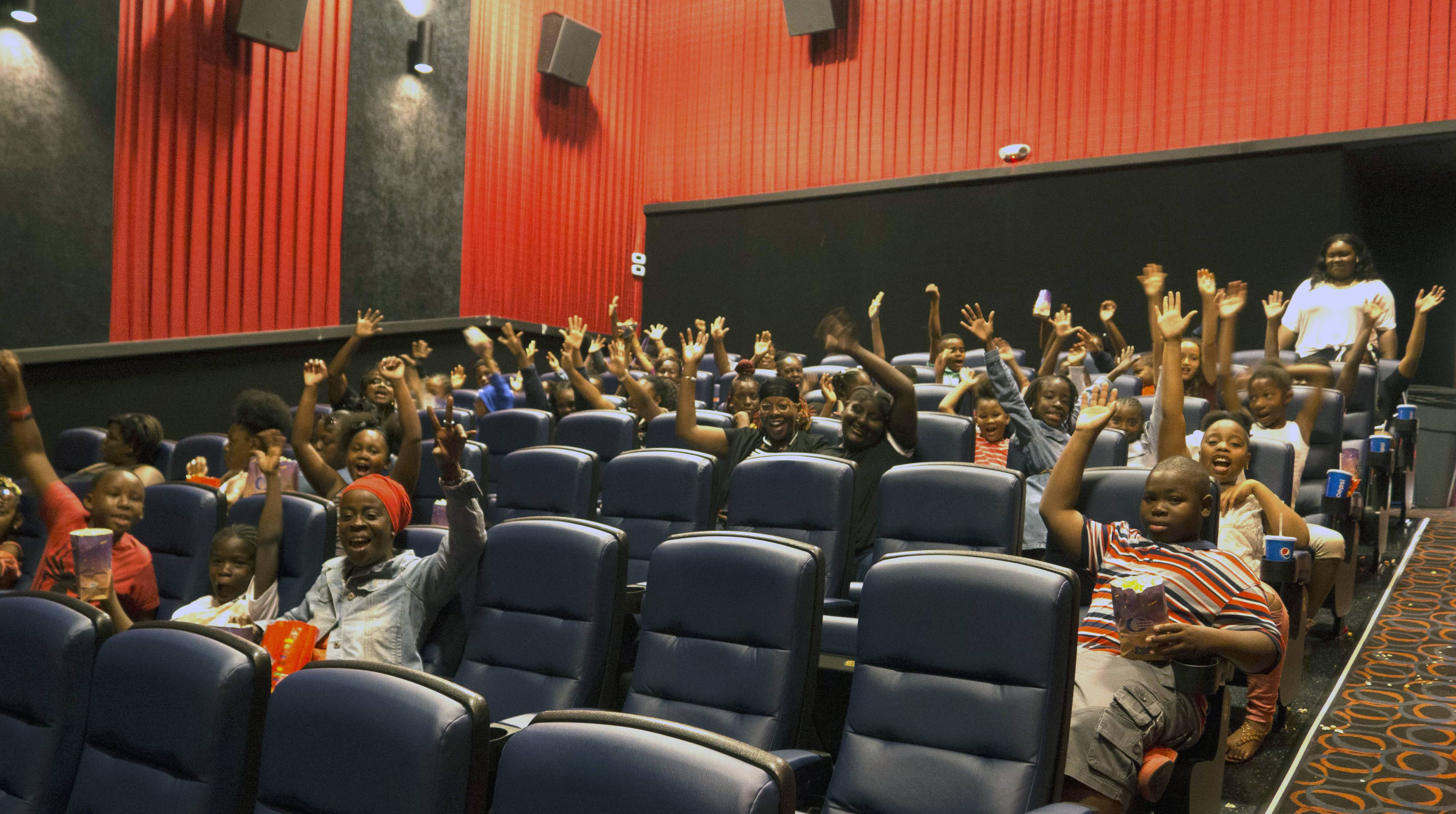 10TH ANNUAL GOVERNOR'S SUMMER READING CHALLENGE CELEBRATES STTJ DISTRICT READERS WITH DAY AT THE MOVIES