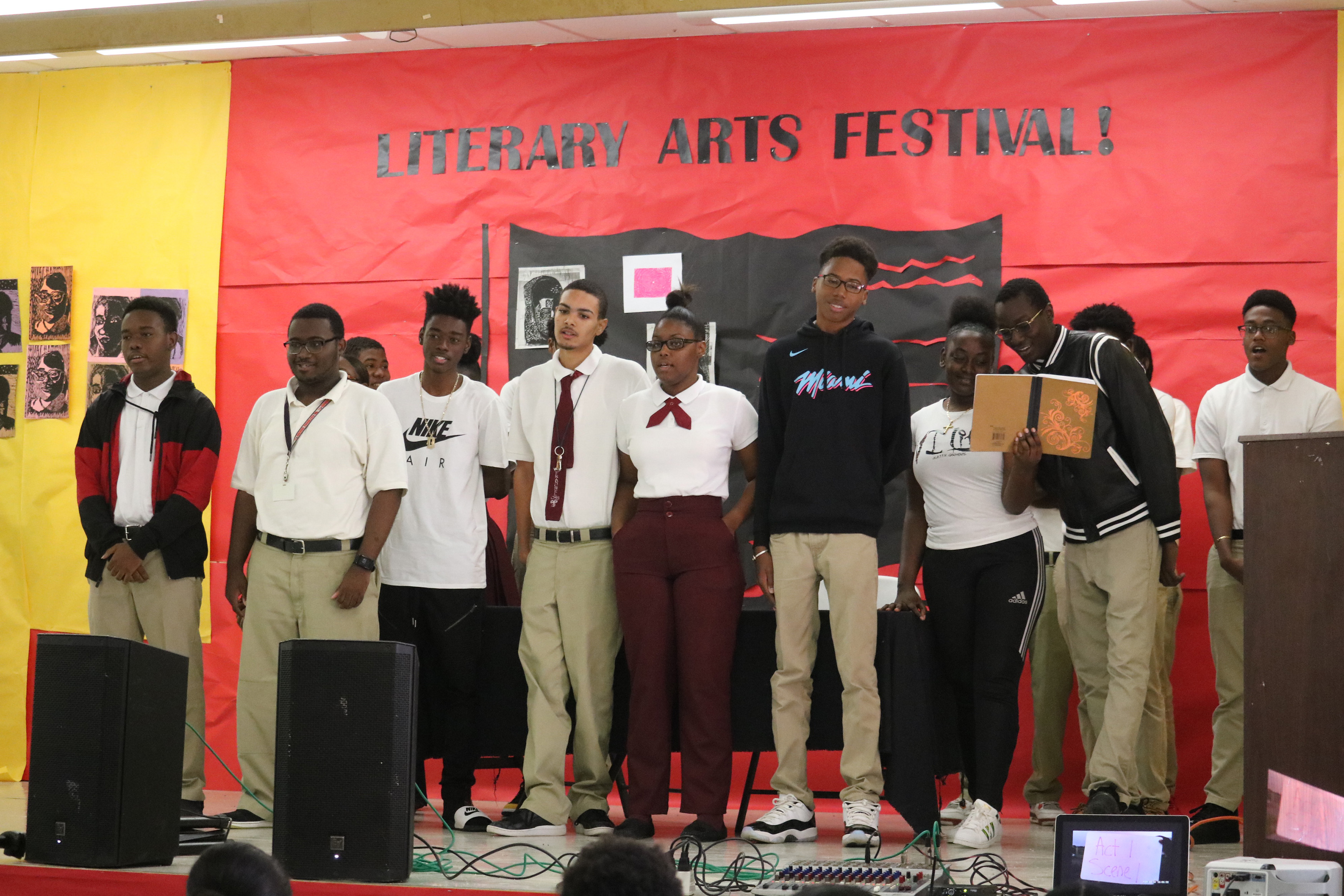 Central High's Third Annual Lit Fest Showcase Students' Literacy Skills In Unique Ways