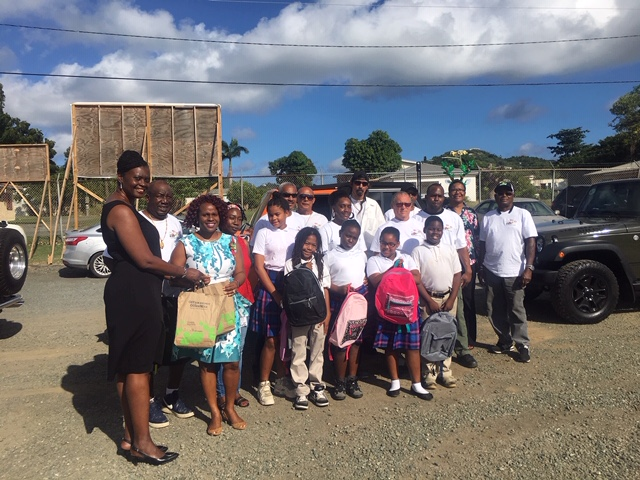 St. Croix Jeep Club Donates School Supplies To Eulalie Rivera Elementary In Annual Giveback Effort