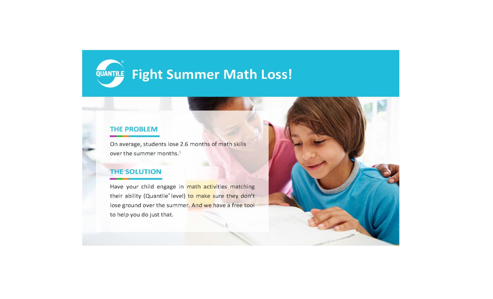 Fight Summer Math Loss with the Math Challenge!