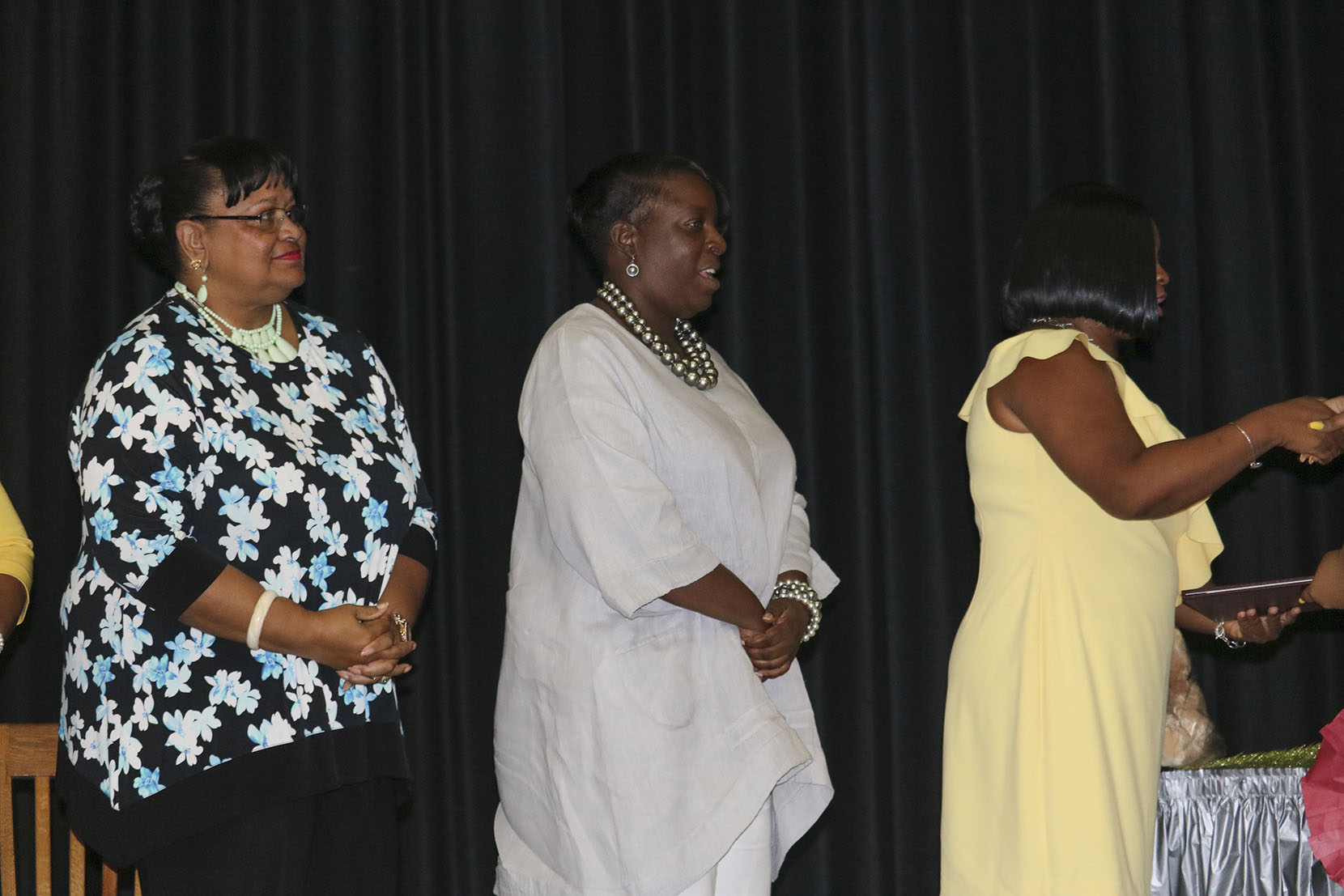 Commissioner of Education Dr. Sharon McCollum and Adult Ed Administrator Andrea Hubson.JPG