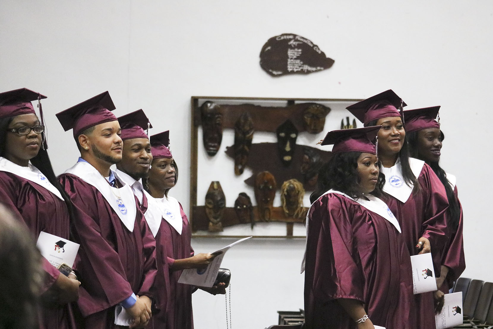 12 Graduates Receive High School Diplomas from STX Adult Education Program