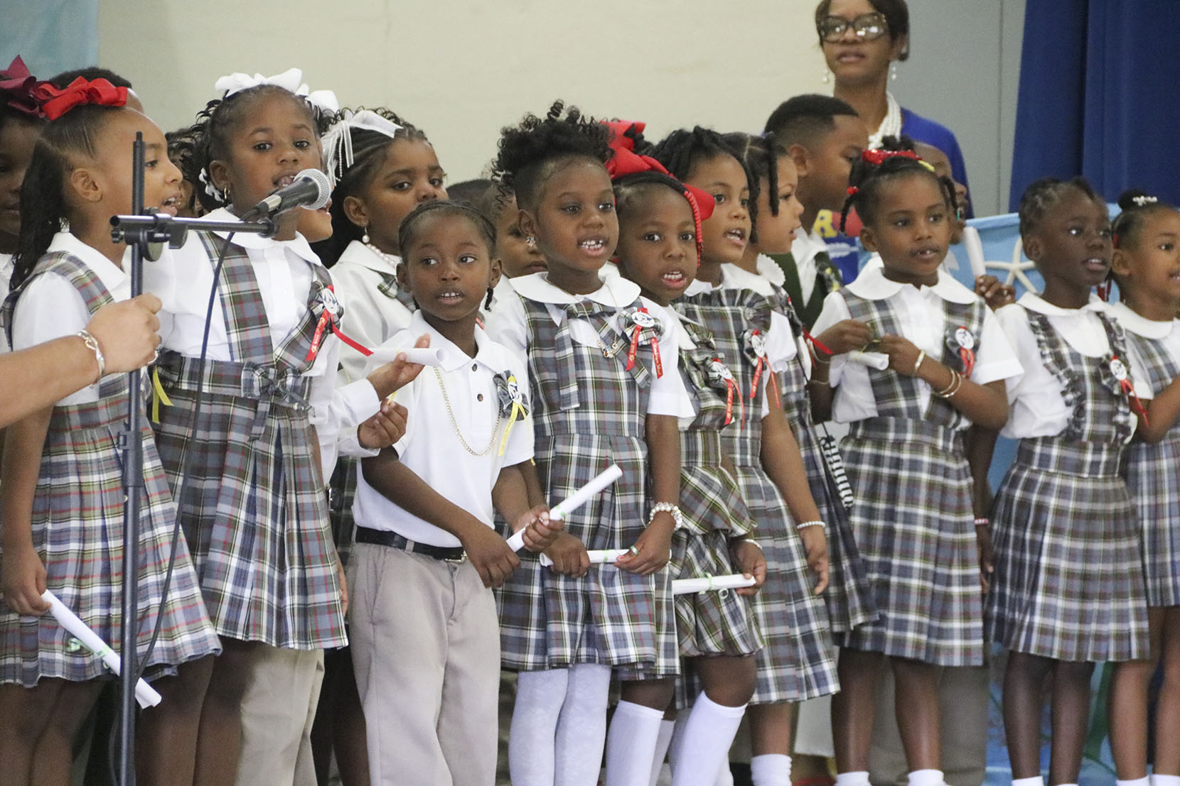 41 Kindergartners Promoted to 1st grade at Henderson Elementary