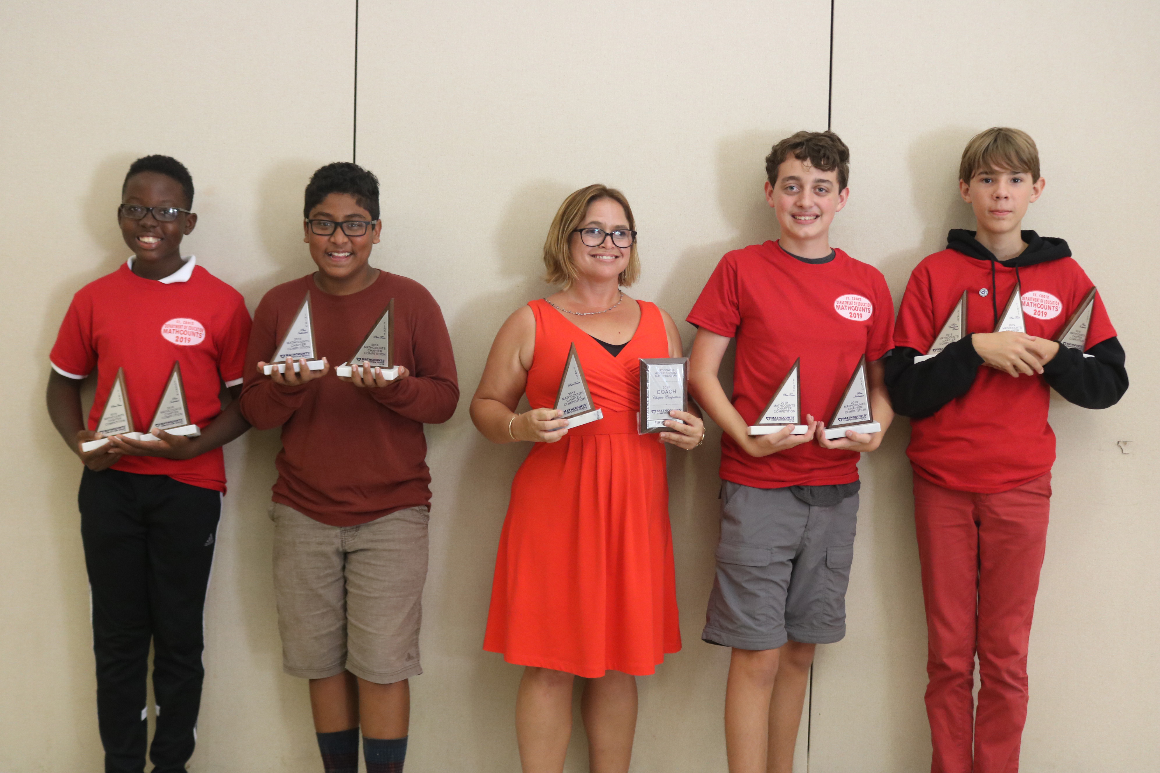 Good Hope Country Day School Wins St. Croix MATHCOUNTS Competition
