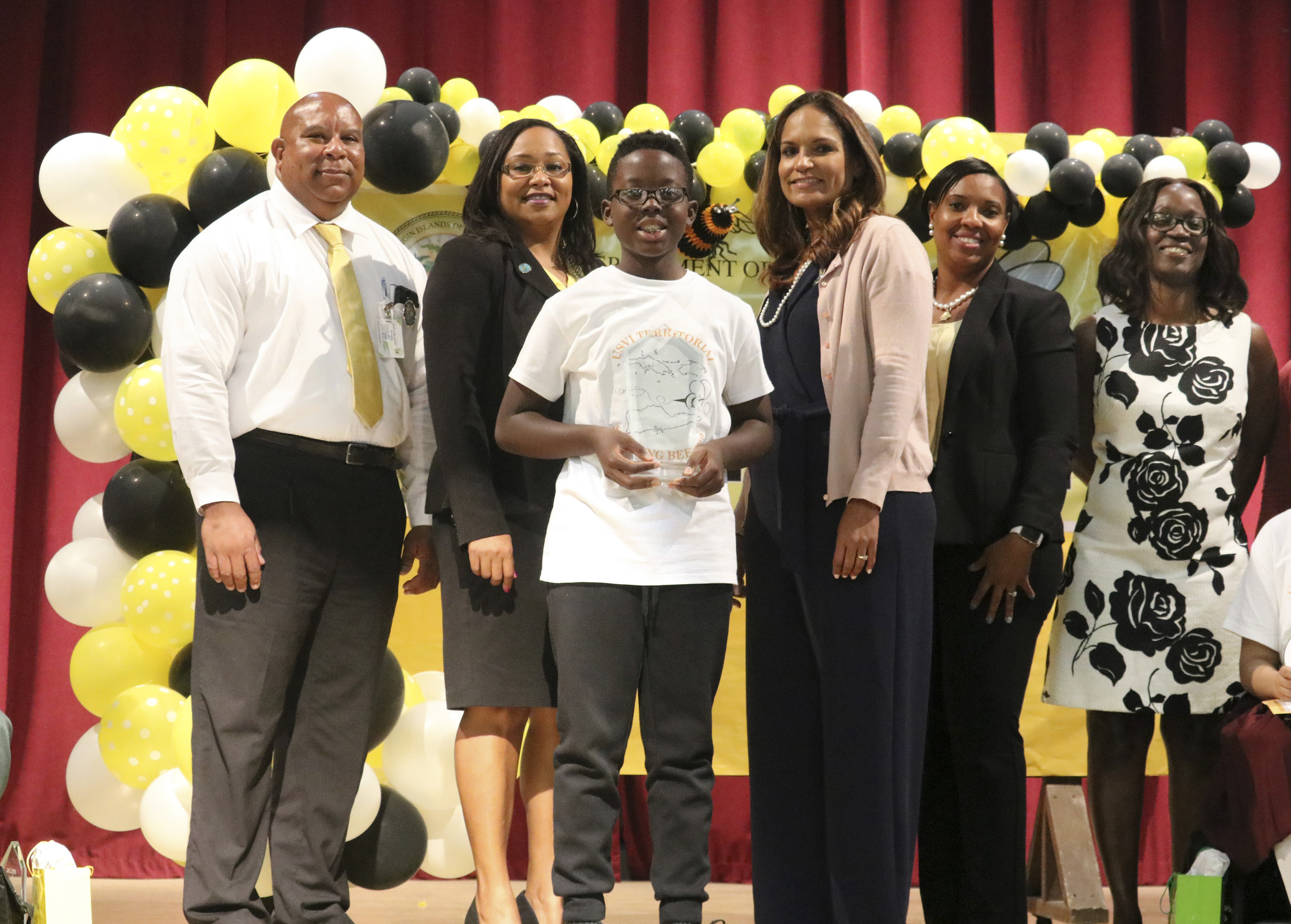 ST. CROIX'S MICHAEL ATWELL WINS 46TH ANNUAL TERRITORIAL SPELLING BEE