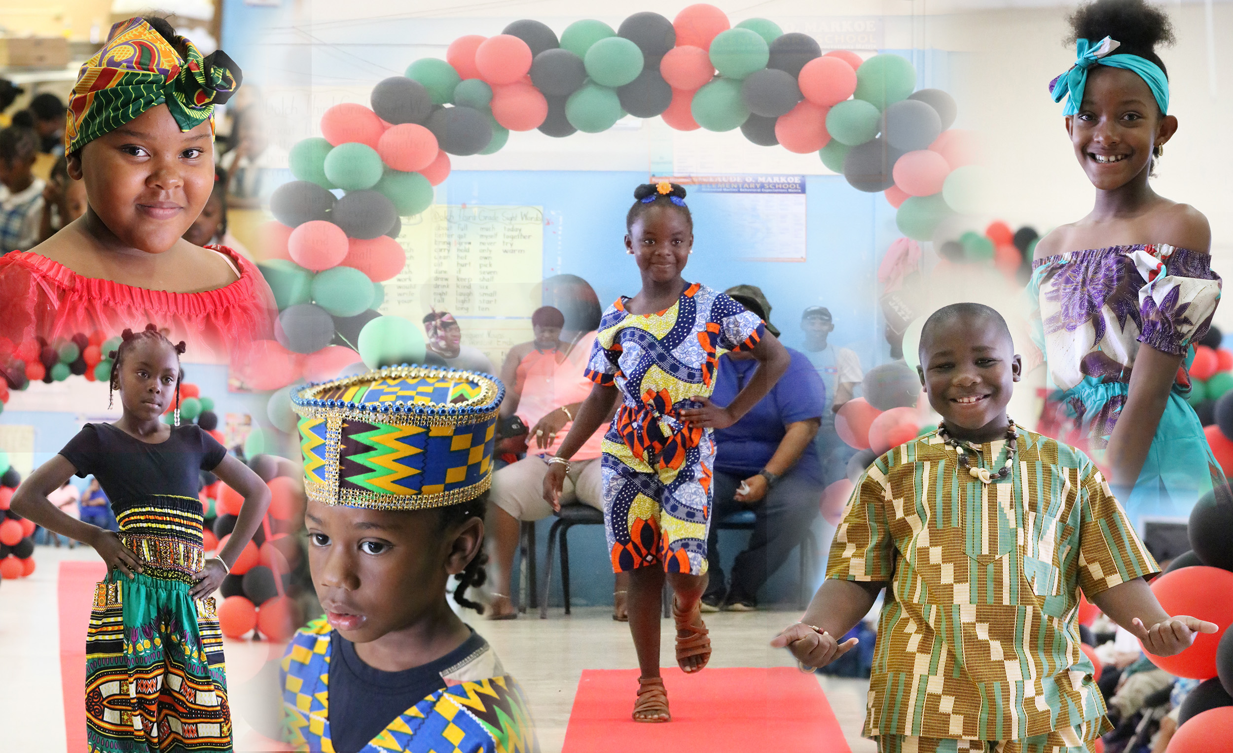 Claude O. Markoe Elementary School Commemorates Black History Month With African Wear Fashion Show