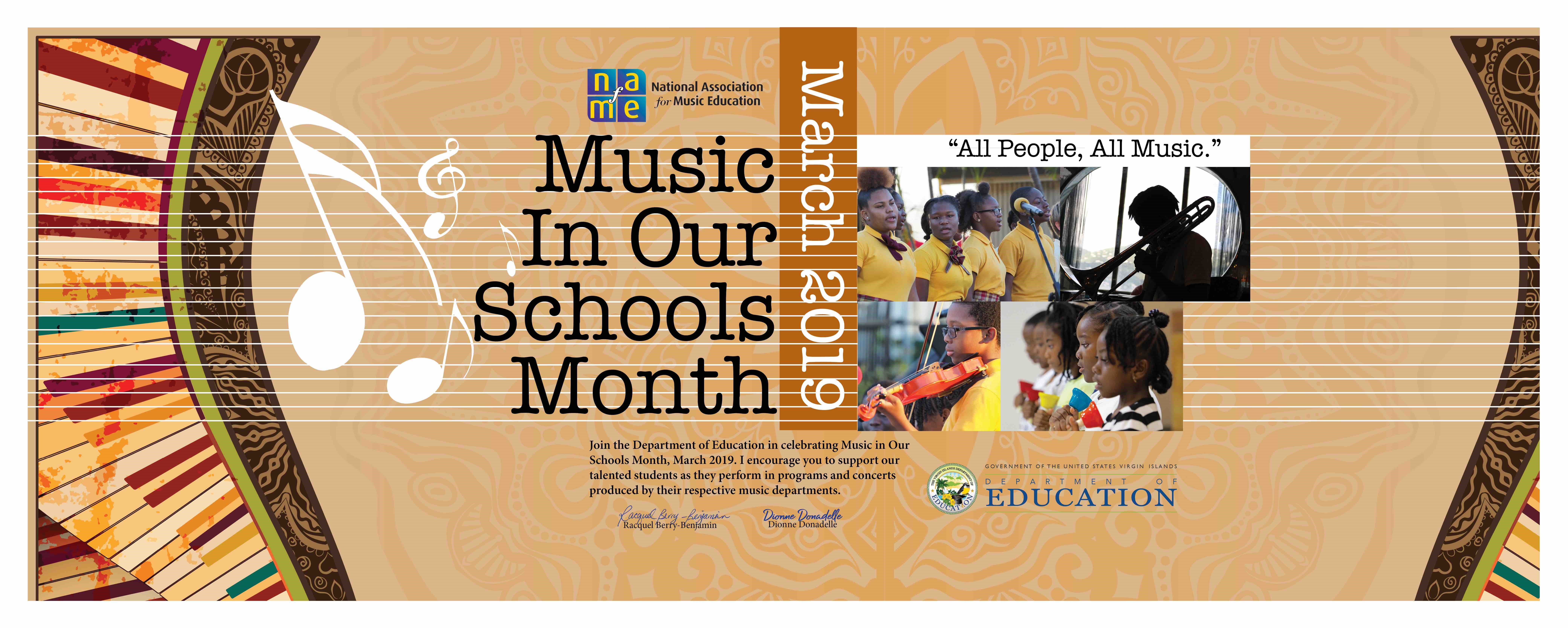 We're Celebrating Music in Our Schools Month!