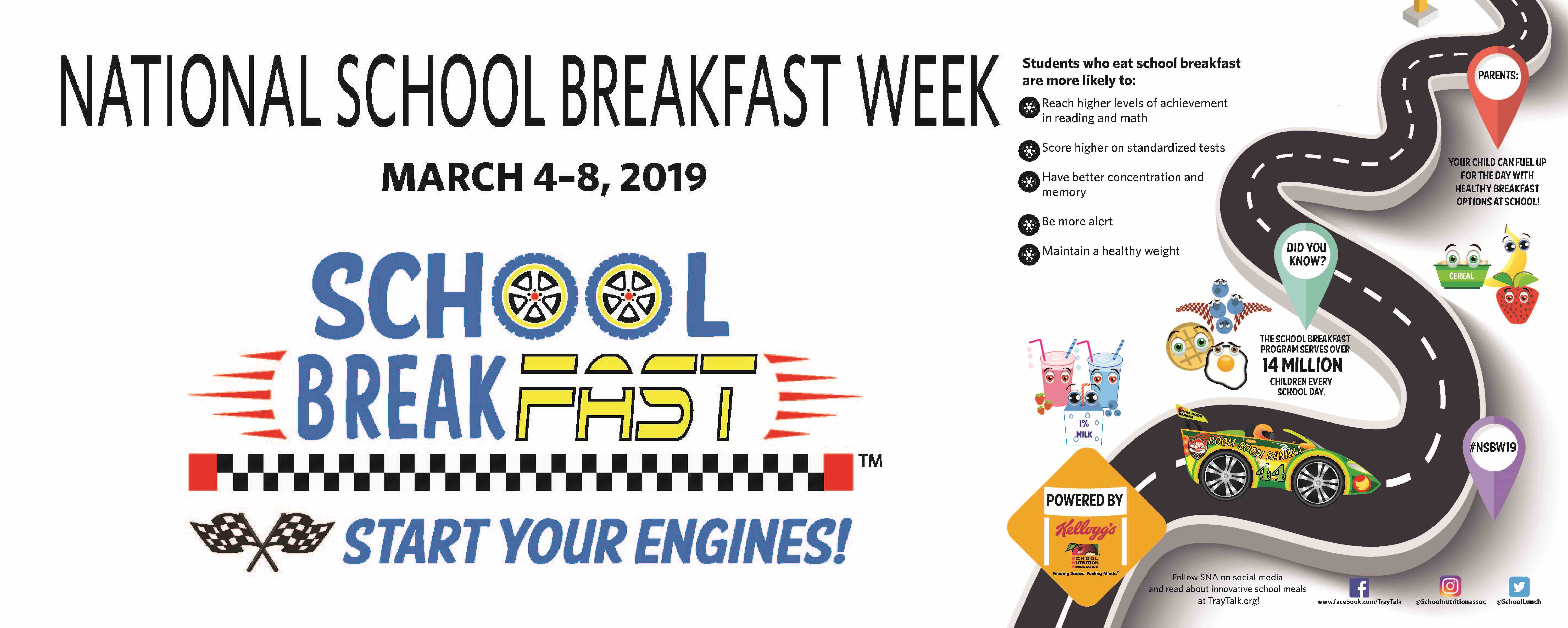 Territory Schools Celebrate National School Breakfast Week March 4-8