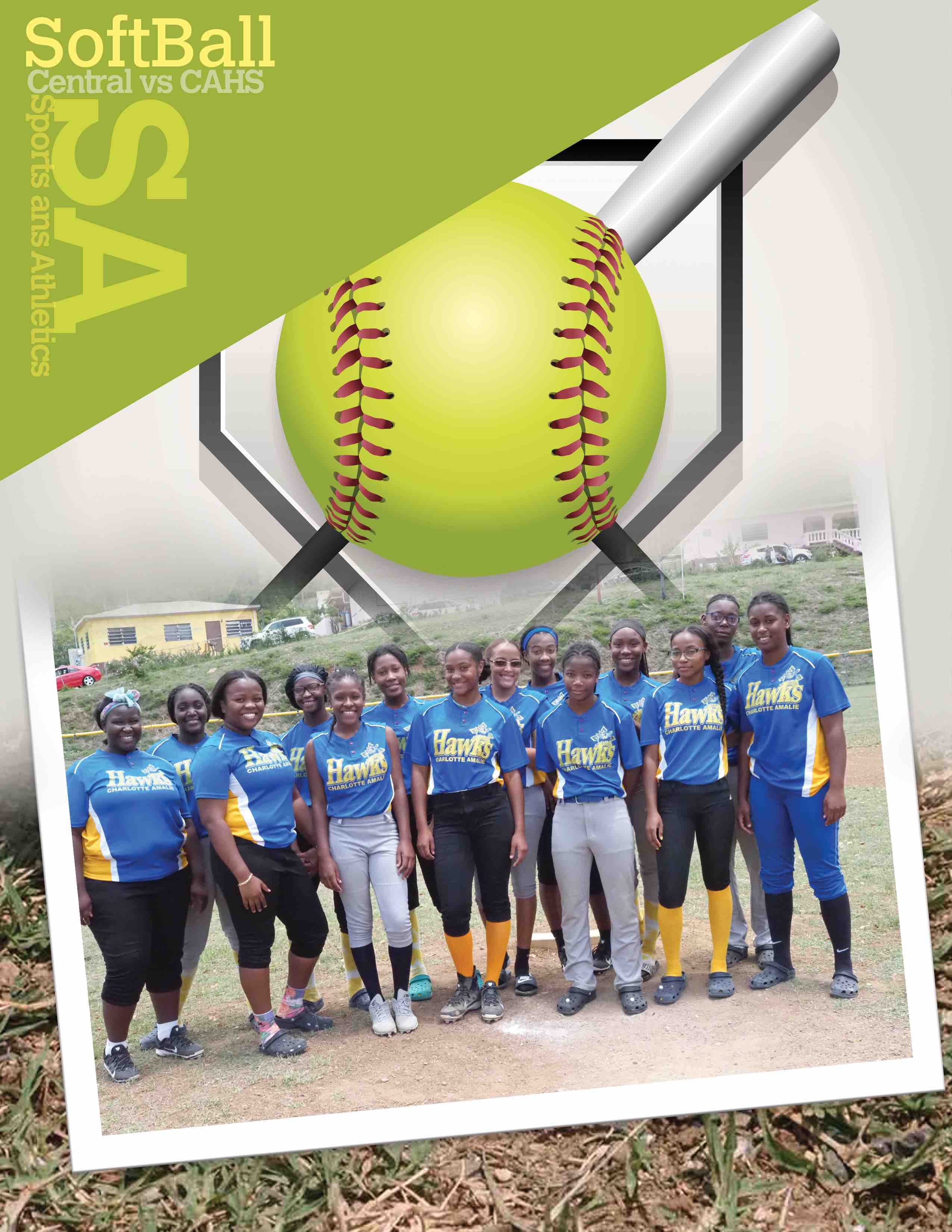 CAHS Girls Softball Team Wins Tournament