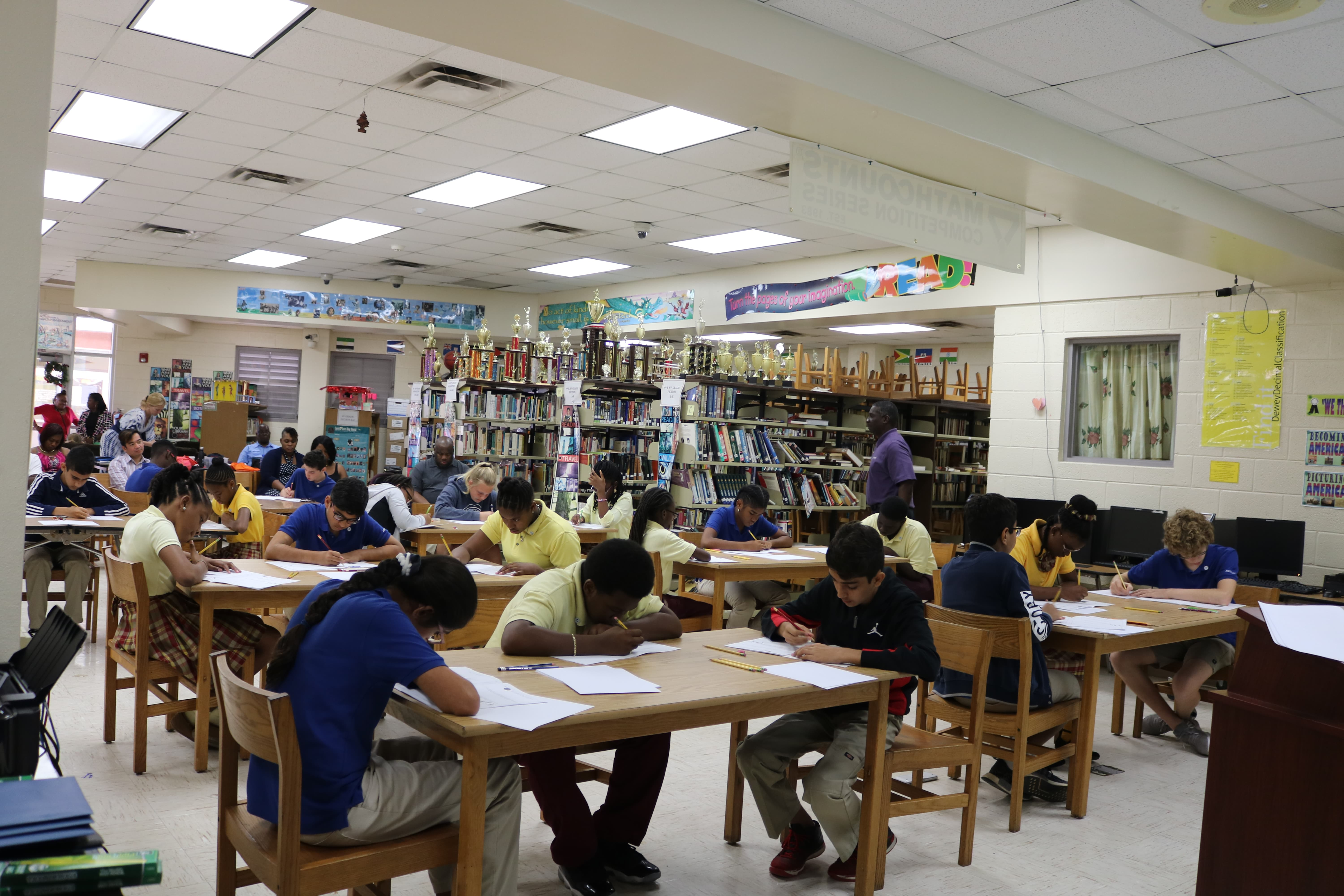 Students from Antilles and BCB advance to State MATHCOUNTS Competition